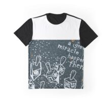 Happy Hanukkah (Dreidel) Graphic T-Shirt