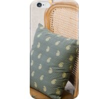 pillow on the chair iPhone Case/Skin