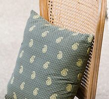 pillow on the chair by spetenfia