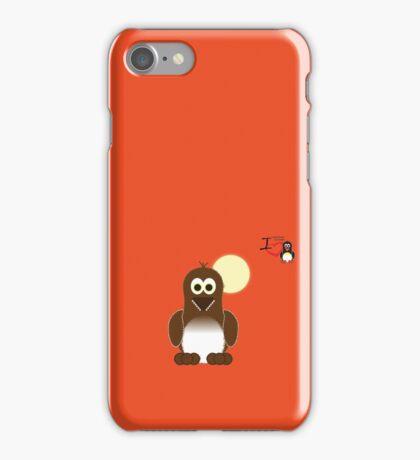 Halloween Penguin - Werewolf (Werepenguin!) iPhone Case/Skin