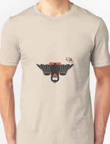 Halloween Penguin - Bat Unisex T-Shirt