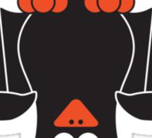 Halloween Penguin - Bat Sticker