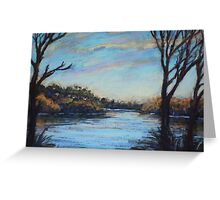 Narrabeen Lakes Greeting Card