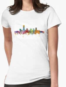 Oklahoma City Skyline Womens Fitted T-Shirt