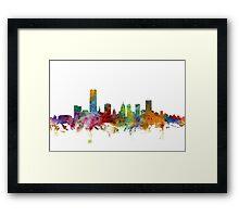 Oklahoma City Skyline Framed Print