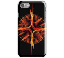Mandala flame design iPhone Case/Skin