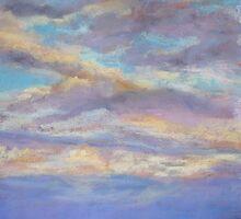 Ettalong dawn cloudscape by Terri Maddock
