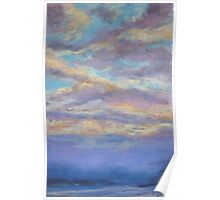 Ettalong dawn cloudscape Poster