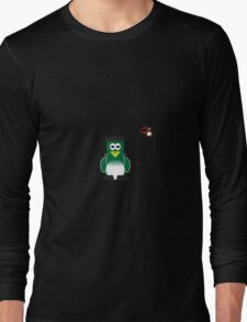 Halloween Penguin - Frankenstein Long Sleeve T-Shirt
