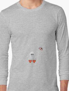 Halloween Penguin - Ghost Long Sleeve T-Shirt