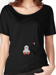 Halloween Penguin - Ghost Women's Relaxed Fit T-Shirt