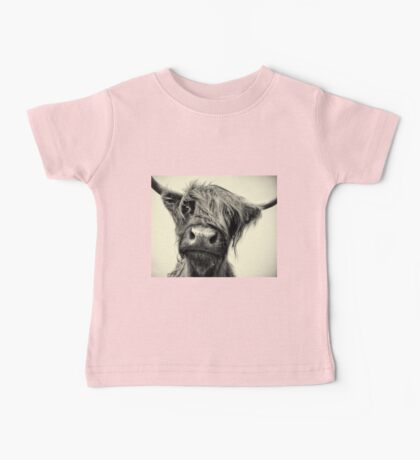 Highland Cow Baby Tee