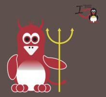 Halloween Penguin - Devil Kids Clothes