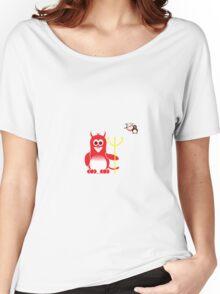 Halloween Penguin - Devil Women's Relaxed Fit T-Shirt