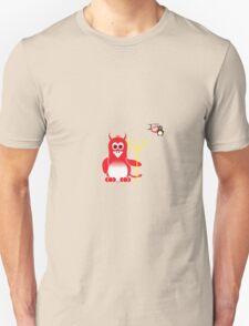 Halloween Penguin - Devil Unisex T-Shirt