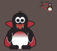 Halloween Penguin - Dracula Kids Clothes