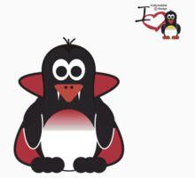 Halloween Penguin - Dracula by jimcwood