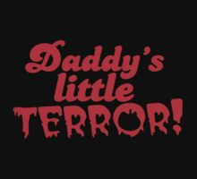 Daddy's little TERROR Baby Tee