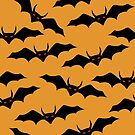 Halloween bats pattern by Richard Laschon