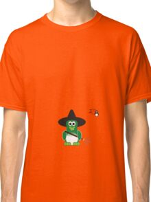 Halloween Penguin - Witch Classic T-Shirt