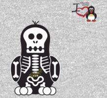 Halloween Penguin - Skellybones (Skeleton) Kids Clothes