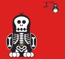 Halloween Penguin - Skellybones (Skeleton) Kids Clothes
