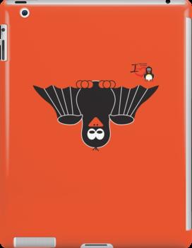 Halloween Penguin - Bat by jimcwood