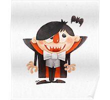 Dracula kid Poster