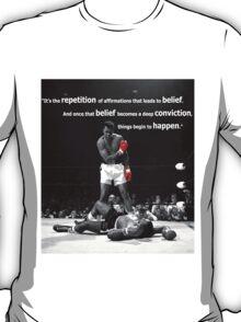 Muhammad Ali Quote T-Shirt
