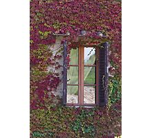 window of the house Photographic Print