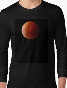 Blood Moon - Eclipse Long Sleeve T-Shirt