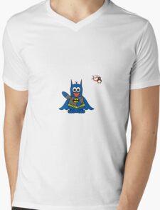 Hero/Icon Penguin - Batman Mens V-Neck T-Shirt