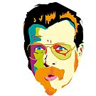 Jesse hughes ( eagles of death metal) by 2piu2design
