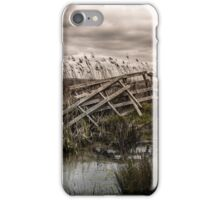 A gate to nowhere iPhone Case/Skin
