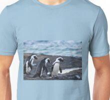 A Trio of Penguins Unisex T-Shirt