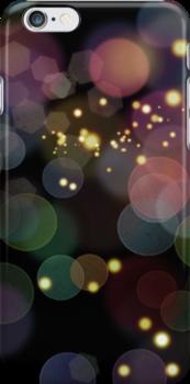 Bokeh iphone case by Vanessa Barklay
