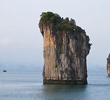 Halong Bay by byronbackyard