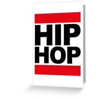 Hip-Hop Greeting Card