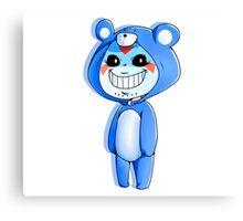 Teddy Lirious Bear pt. 2 Canvas Print