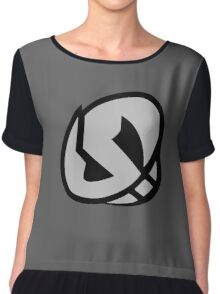 Team Skull Emblem (non shiny) Chiffon Top