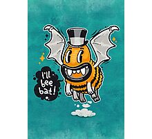 Cartoon Monster I'll Bee Bat Photographic Print