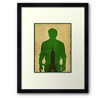 Booker Dewitt cool design Bioshock infinite Framed Print