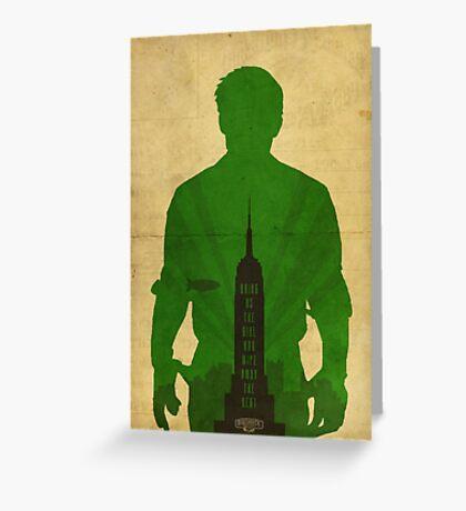 Booker Dewitt cool design Bioshock infinite Greeting Card