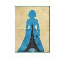 Elizabeth cool design Bioshock infinite Art Print