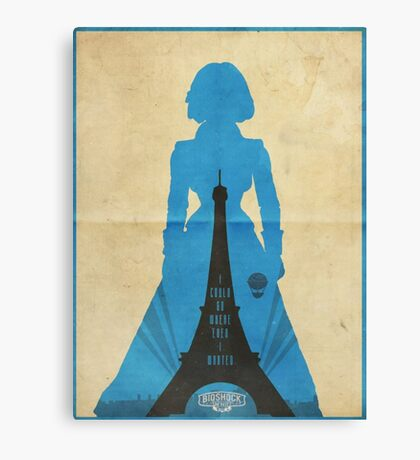 Elizabeth cool design Bioshock infinite Canvas Print