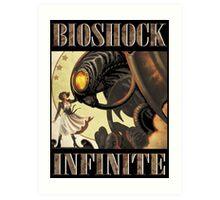 Bioshock infinite cool bird Art Print