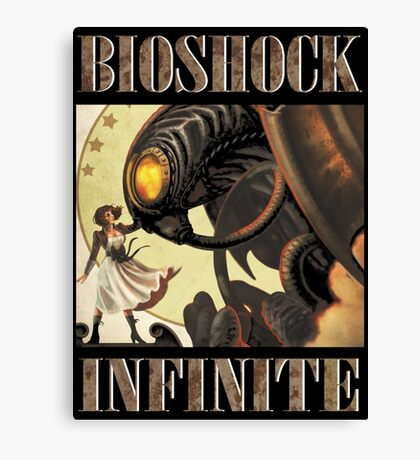 Bioshock infinite cool bird Canvas Print