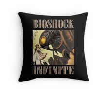 Bioshock infinite cool bird Throw Pillow
