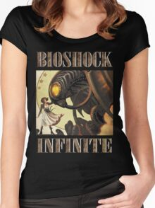 Bioshock infinite cool bird Women's Fitted Scoop T-Shirt
