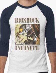 Bioshock infinite cool bird Men's Baseball ¾ T-Shirt